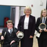 Year 8 Outstanding Boy and Girl - Logan Hailes and Chloe Bell